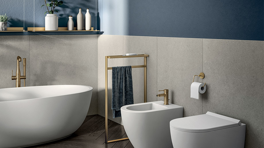 Bathroom accessories for total everyday comfort