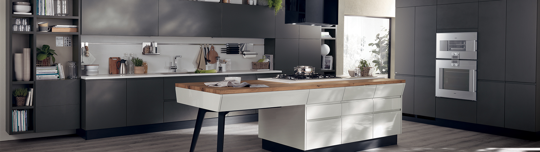 Scavolini USAItalian Kitchens Bathrooms and Living Room